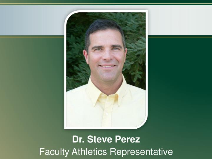 Dr. Steve Perez