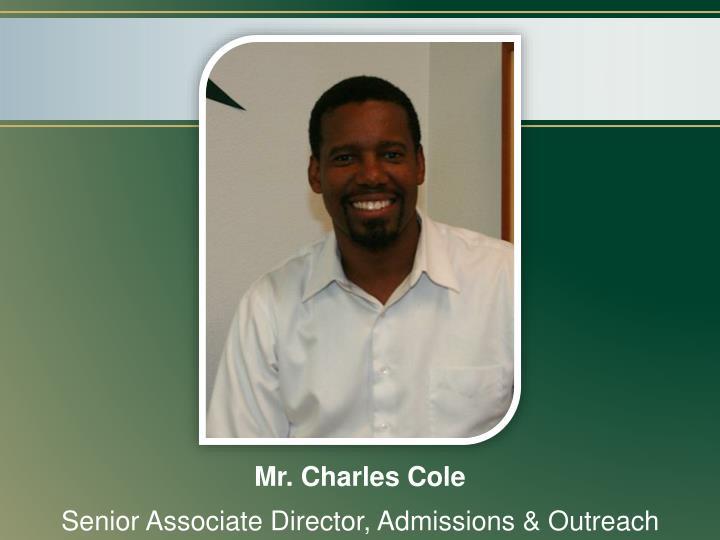 Mr. Charles Cole