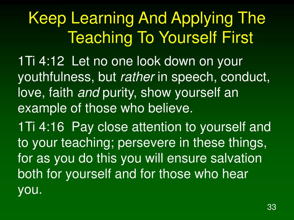 "PPT - ""Pay Close Attention To Yourself And To Your Teaching"