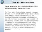 topic 10 best practices4