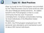 topic 10 best practices7