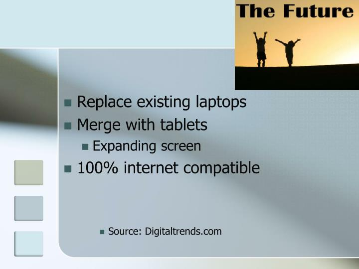 Replace existing laptops