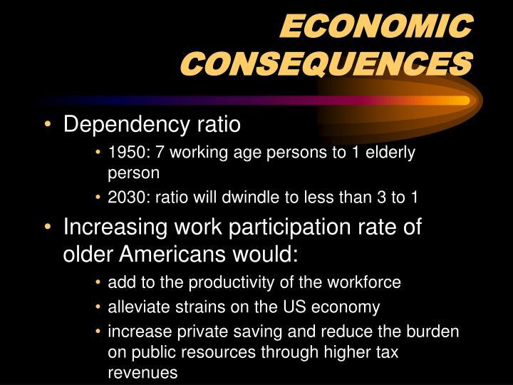 ECONOMIC CONSEQUENCES