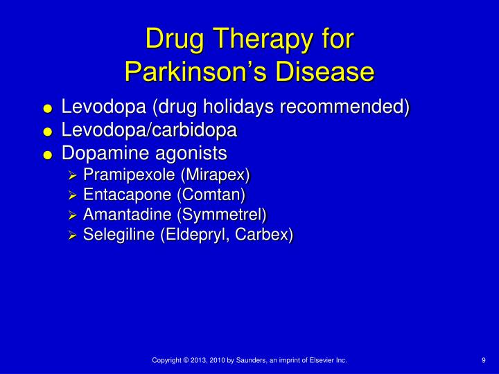 Drug Therapy for