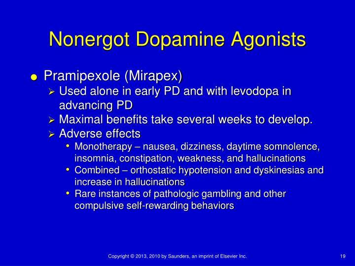 Nonergot Dopamine Agonists