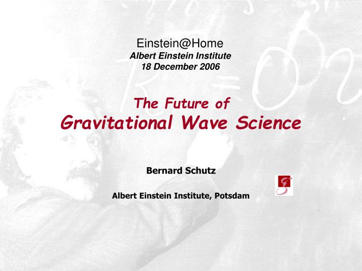 The future of gravitational wave science