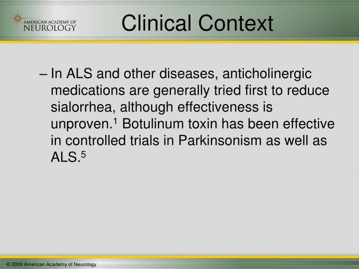 Clinical Context