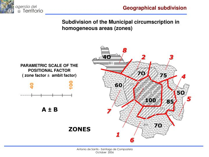 Geographical subdivision