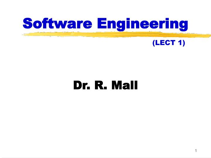 software engineering lect 1 n.