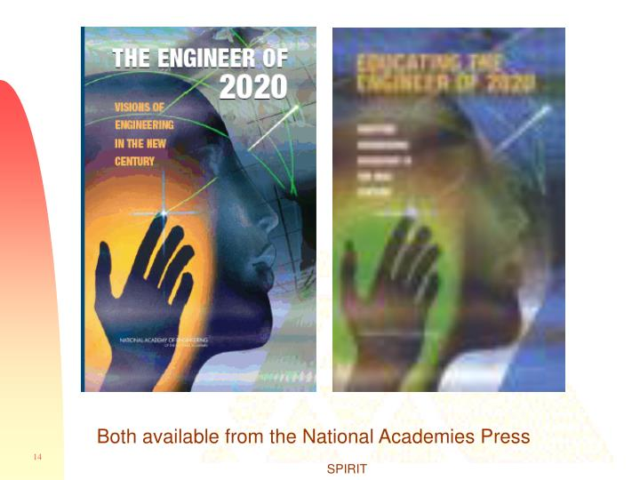 Both available from the National Academies Press