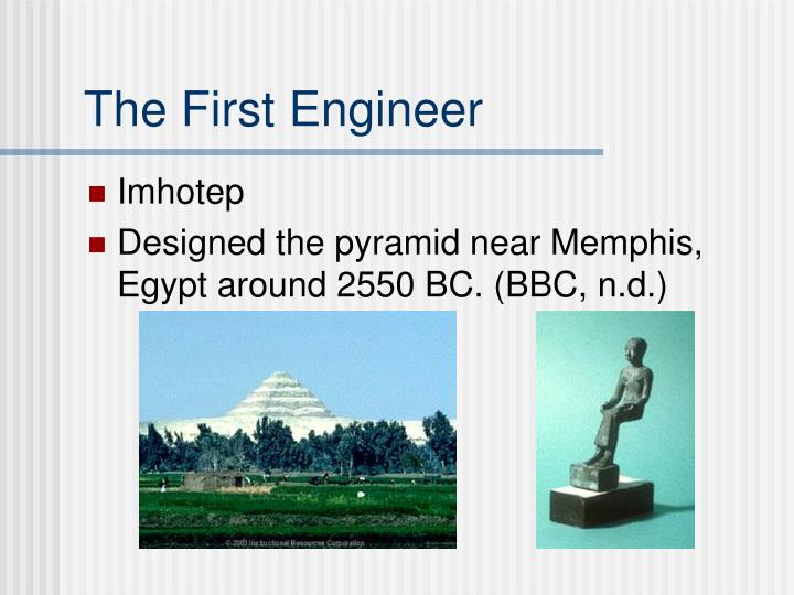 The First Engineer