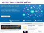 connect open innovation platform