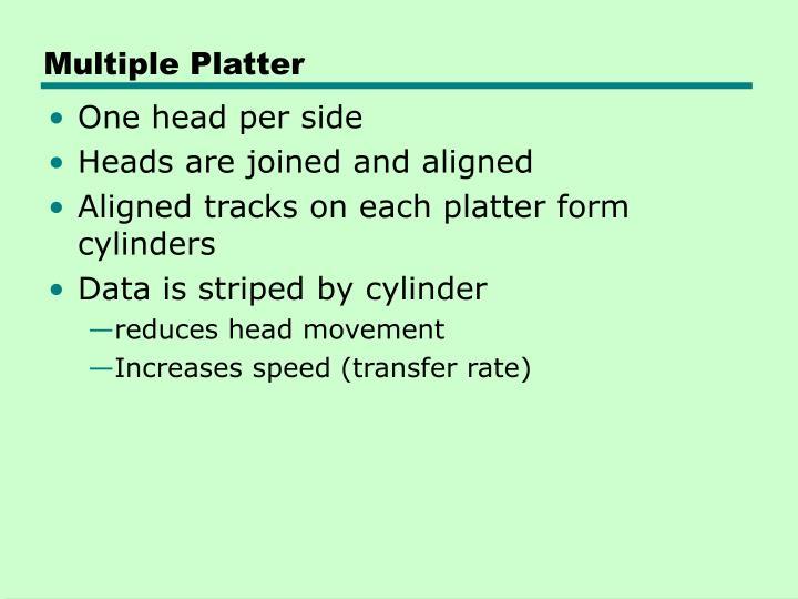 Multiple Platter