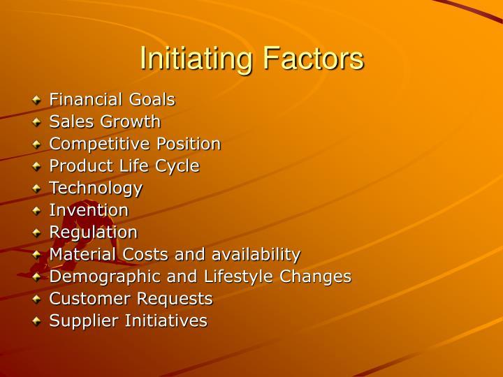 Initiating factors
