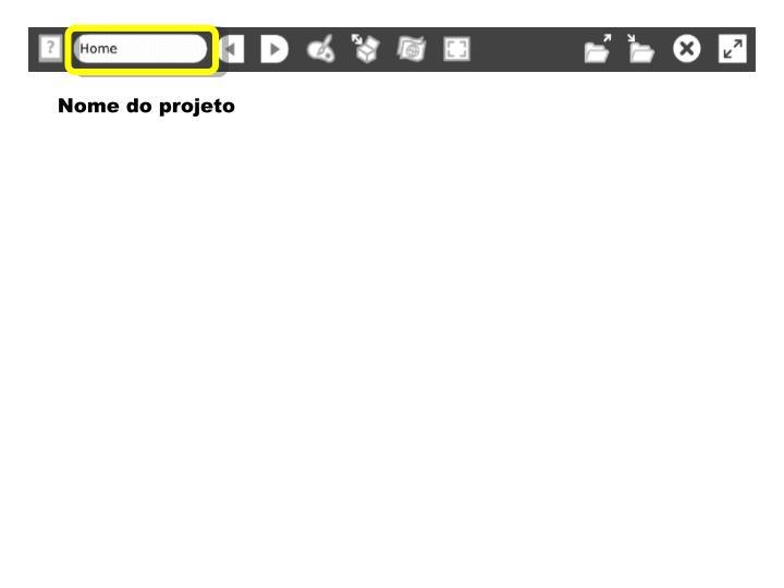 Nome do projeto