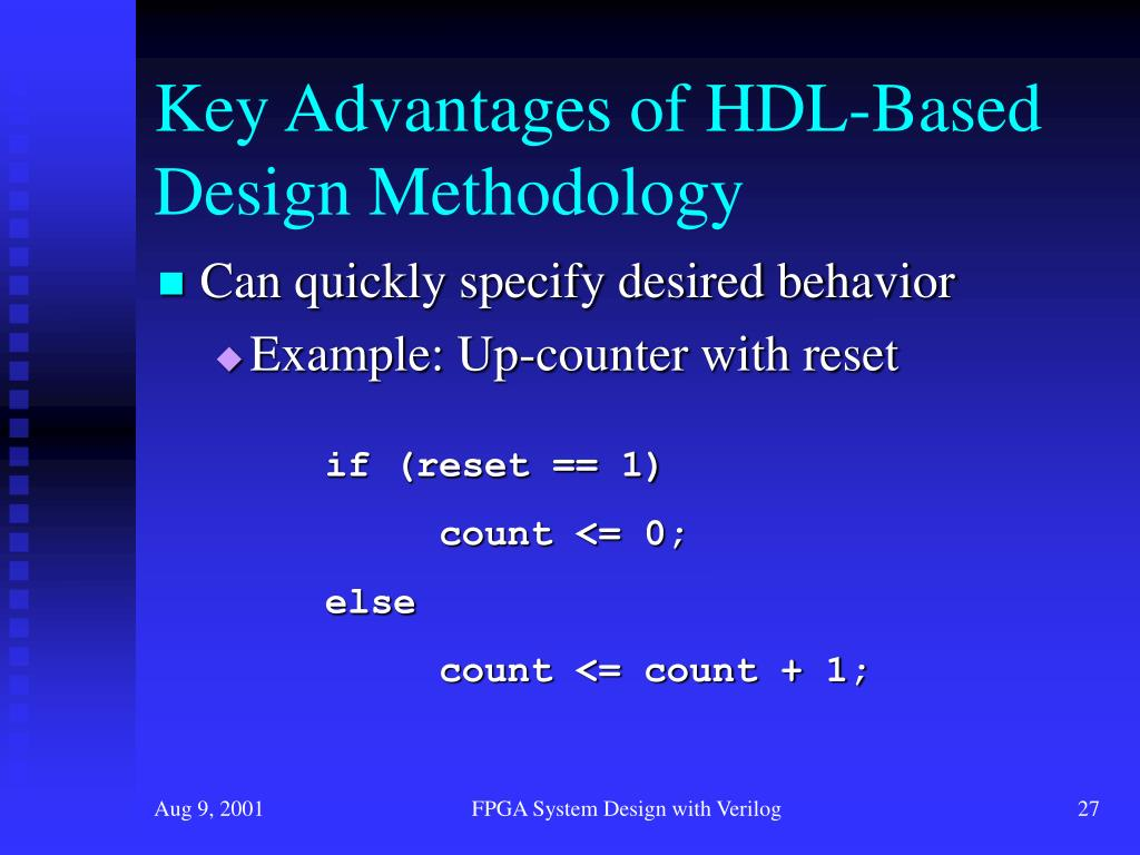 PPT - FPGA System Design with Verilog PowerPoint Presentation - ID