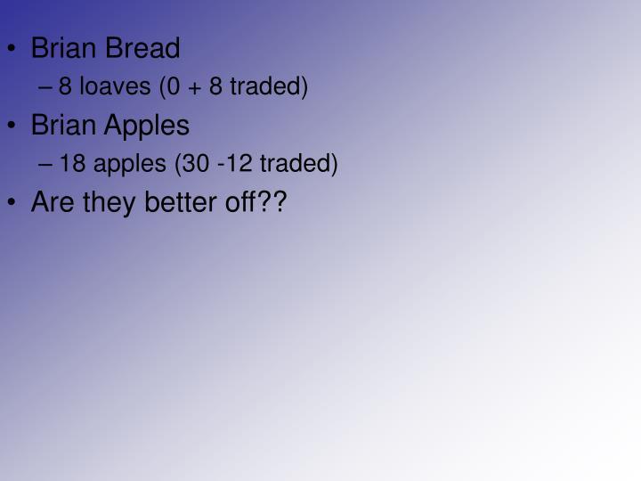 Brian Bread