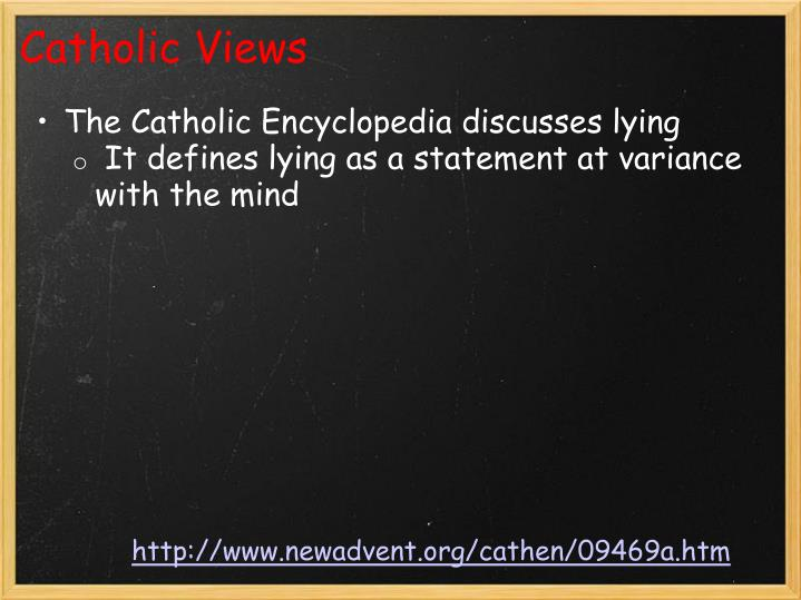 Catholic Views