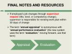 final notes and resources1