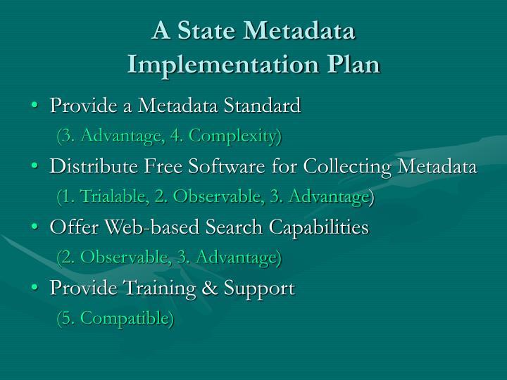 A State Metadata
