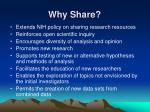 why share