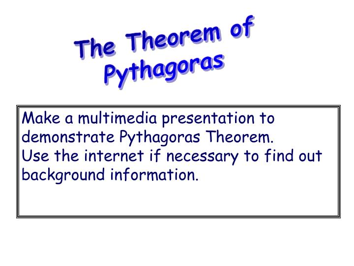 The Theorem of