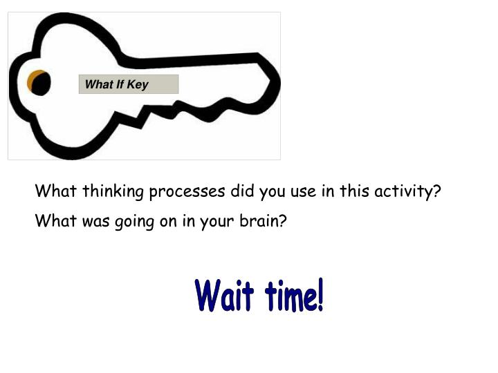 What If Key