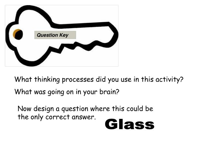 Question Key