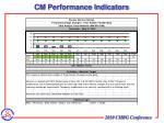 cm performance indicators1