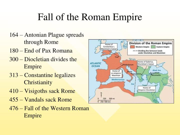 the fall of the western roman empire Church history the fall of rome early church history, part 16 by dr jack l arnold introduction the fall of mighty rome in ad 476 profoundly impacted the secular world and the church.