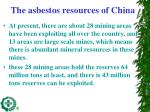 the asbestos resources of china1