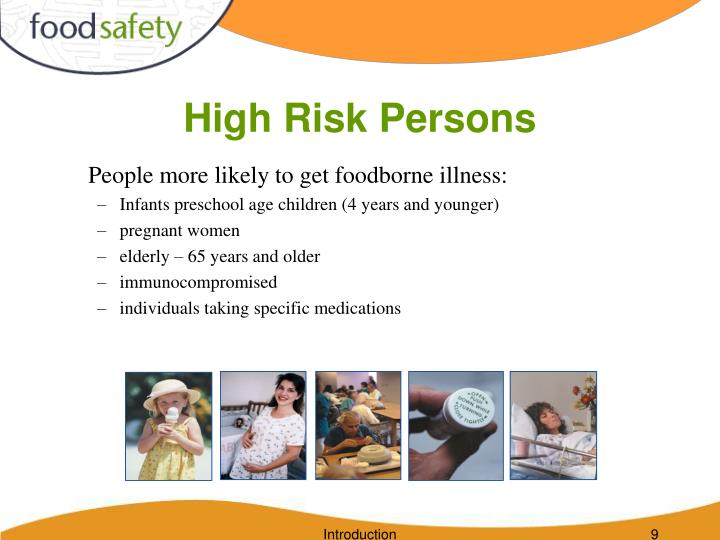 High Risk Persons