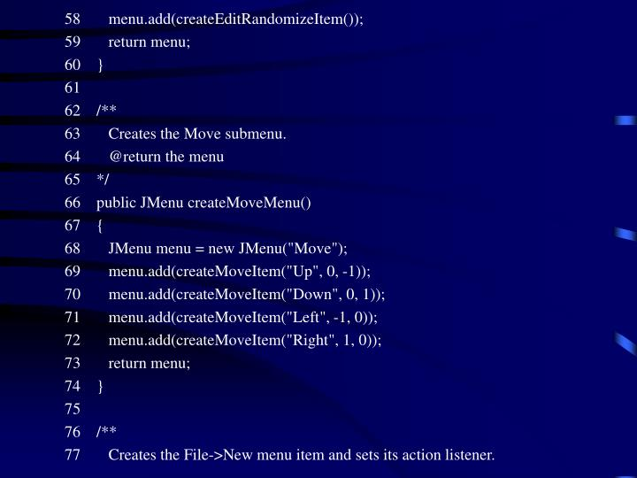 58       menu.add(createEditRandomizeItem());