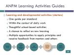 anpm learning activities guides1