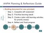 anpm planning reflections guide