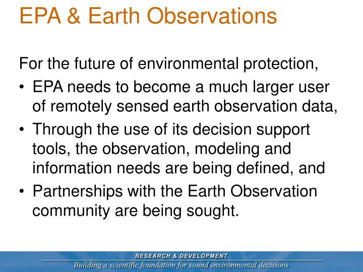 Epa earth observations1