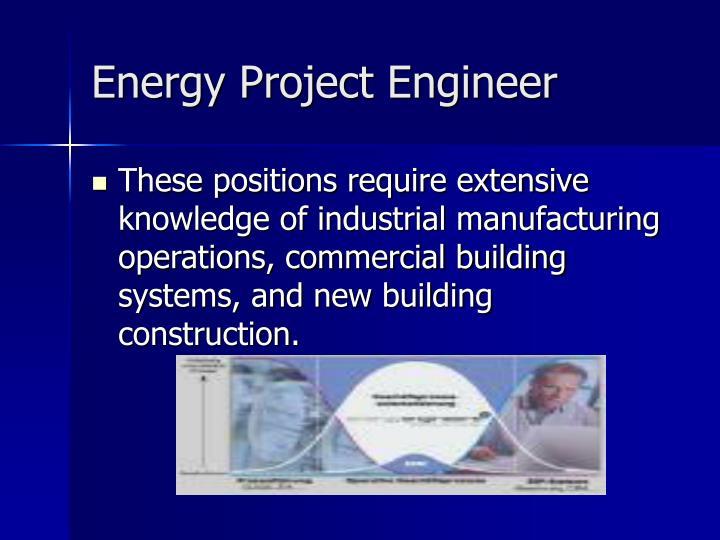 Energy Project Engineer