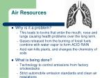 air resources1