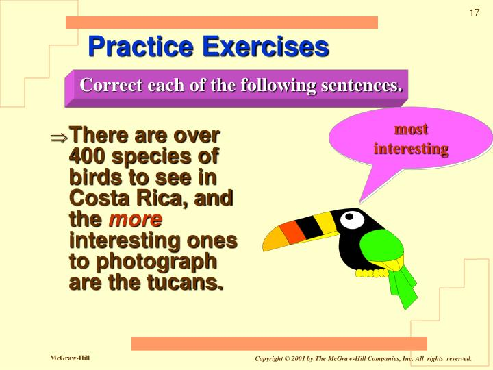 There are over 400 species of birds to see in Costa Rica, and the