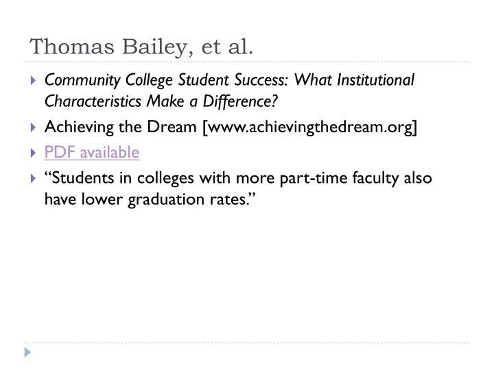 Thomas Bailey, et al.