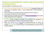 esquema de razonamiento grade para la evaluaci n y recomendaci n por ejemplo rosuvastatina 2