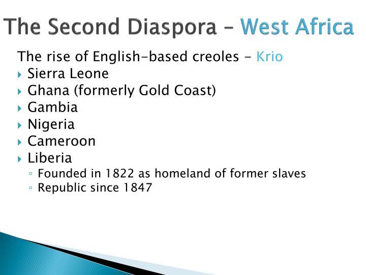 The Second Diaspora –