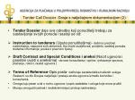 tender call dossier dosje s natje ajnom dokumentacijom 2