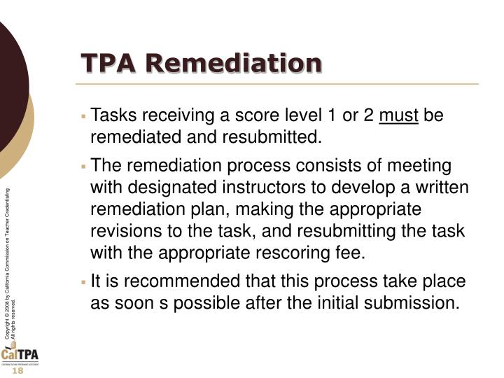 TPA Remediation