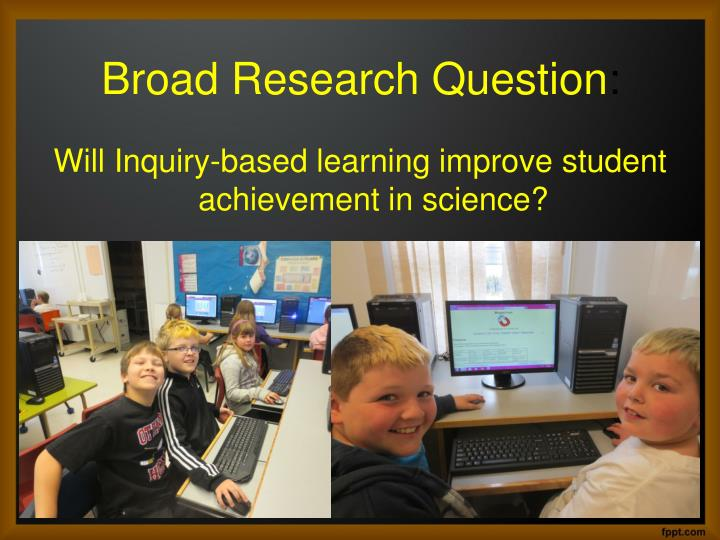 Broad research question