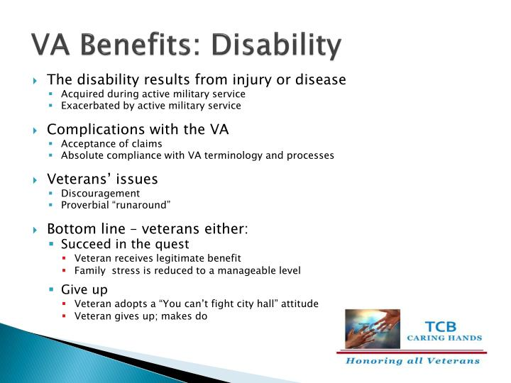 VA Benefits: Disability