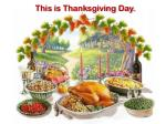 this is thanksgiving day