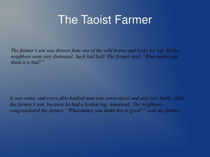 The taoist farmer1