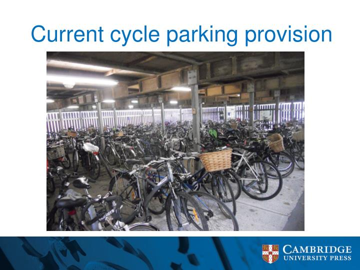 Current cycle parking provision