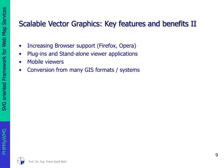 Scalable Vector Graphics: Key features and benefits II